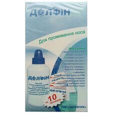 Долфин устройство 240 мл + средство №1 пакеты по 2 г №10