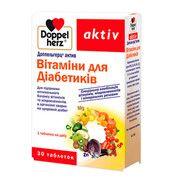 Доппельгерц витамины для диабетиков таблетки №30 - Фото