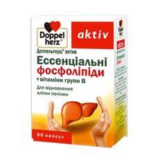 Доппельгерц Витамины группы  В+ эссенциальные фосфолипиды капсулы №50 - Фото