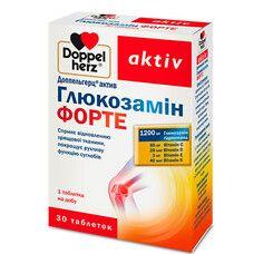 Доппельгерц Витамины Глюкозамин Форте таблетки №30 - Фото