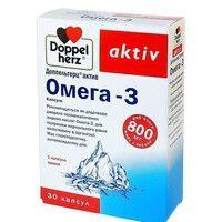 Доппельгерц витамины Омега-3 капсулы №30 - Фото
