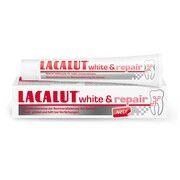 Лакалут Вайт зубна паста відновлювальна 75 мл  - Фото