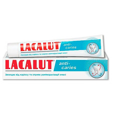 Лакалут зубная паста Анти-Кариес 75мл