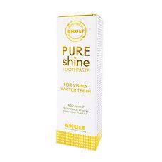 Відбілююча зубна паста Pure shine Ekulf 75 мл - Фото