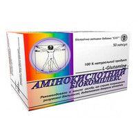 Аминокислотный Биокомплекс капсулы №50 - Фото