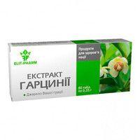 Экстракт гарцинии 0.25 г № 80 таблетки