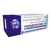 Хондроитин с глюкозамином таблетки № 80 по 0,5 г - Фото