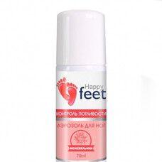 Аэрозоль для ног контроль потливости ТМ Хэппи Фит / Happy Feet можжевельник 70 мл - Фото