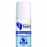 Аерозоль для ніг охолоджувальний ТМ Хеппі Фіт / Happy Feet м'ята 70 мл - Фото