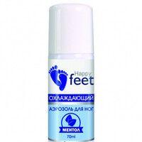 Аэрозоль для ног охлаждающий ТМ Хэппи Фит / Happy Feet мята 70 мл - Фото