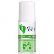 Аерозоль для ніг протигрибковий HAPPY FEET (Чайне дерево) 70 мл  - Фото