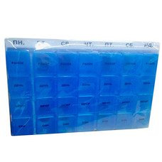 Органайзер для таблеток пластик неделя РТ 6039