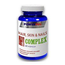 Комплекс кожа, волосы, ногти Powerful капсулы №60
