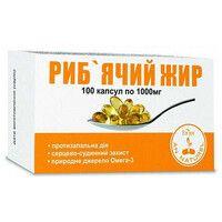 Рыбий жир Enjee капсулы 1000 мг №100