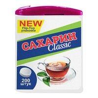 Сахарин классик флип-топ подсластитель таблетки №200