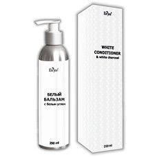 Бальзам-ополаскиватель для волос ТМ Энджи / Enjee с белым углем 250 мл