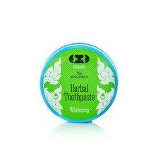 Зубна паста відбілювальна Herbal Whitening 25 г - Фото