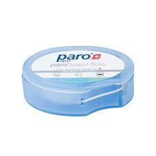 Дорожній зубної флосс Paro travel floss вощений з м'ятою 5 м - Фото