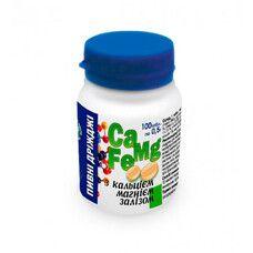 Дрожжи пивные с кальцием, магнием и железом таблетки 0,5 г №100
