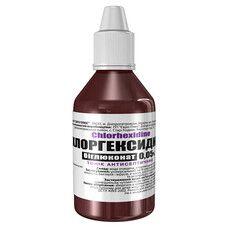 Хлоргексидина биглюконат 0,05% раствор 100 мл