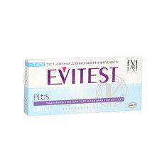 Тест-полоска для определения беременности Evitest Plus