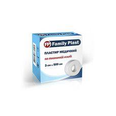 Пластырь медицинский FP Family Plast на тканевой основе 3 см х 500 см