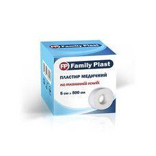 Пластырь медицинский FP Family Plast на тканевой основе 5 см х 500 см