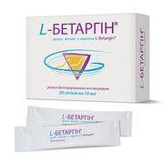 L-Бетаргин раствор 10 мл саше N20 - Фото