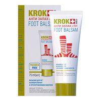 Бальзам для ног Крок Мед / Krok Med Анти Запах и Пот 75мл - Фото