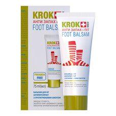 Бальзам для ніг Крок Мед / Krok Med Анти Запах і Пот 75 мл - Фото