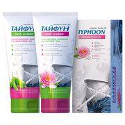 Набор для похудения Тайфун №5 (Чай Лотос+Крем+Сыворотка) - Фото