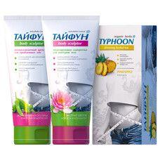 Набір для схуднення Тайфун № 6 (Чай Ананас + Крем + Сироватка) - Фото