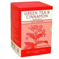 Чай зеленый органический с корицей №20
