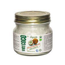 Кокосова олія органічна холодного віджиму Viet Coco 200 мл - Фото
