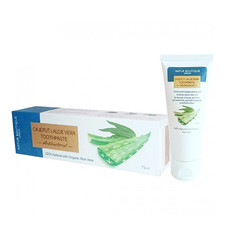 Натуральна зубна паста з каяпутом, базиліком і алое вера антибактеріальна ТМ Natur Boutique 75 мл - Фото