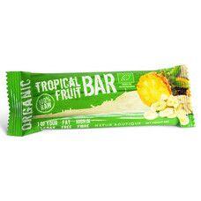 Батончик фруктовий Tropica органічний Natur Boutique 45 г - Фото