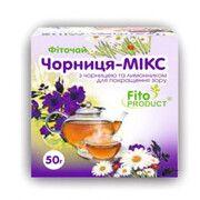 Фиточай № 10 Черника-Микс с черникой и лимонником 50 г - Фото