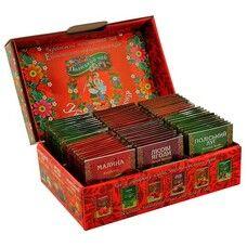 """Чайный набор """"Украинский сувенир"""" 72 пакетика"""