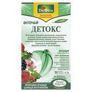 Фіточай Детокс Dr.Fito в пакетиках 20 * 1,5 г - Фото
