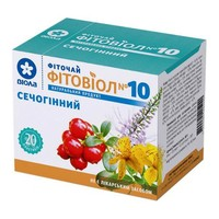 Фитовиол фиточай №10 Мочегонный 1,5 г №20 - Фото