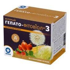 Фитовиол фиточай №3 Гепато-Фитовиол 1,5 г №20