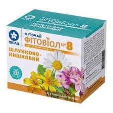 Фитовиол фиточай №8 Желудочно-кишечный 1,5 г №20