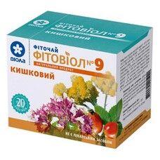Фитовиол фиточай №9 Кишечный 1,5 г №20