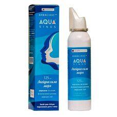 Аквасинус средство для гигиены полости рта и носа аэрозоль 125 мл - Фото