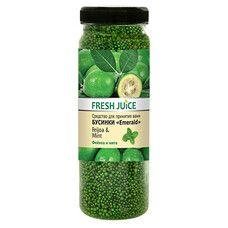 Fresh Juice средство для ванн Фейхоа и Мята 450 г