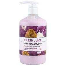 Fresh Juice крем-гель для душу Маракуйя і Магнолія 750 мл  - Фото