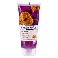 Fresh Juice пилинг для тела Маракуйя и коричневый сахар 200 мл