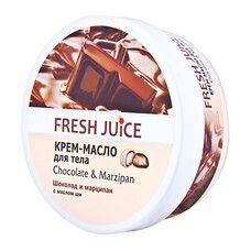 Fresh Juice крем-олія для тіла Шоколад і Марципан 225 мл  - Фото