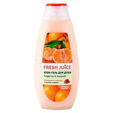 Fresh Juice крем-гель для душу Мандарин і Авапухі 400 мл  - Фото