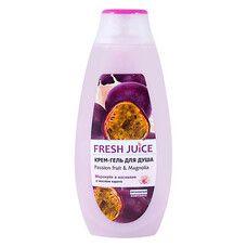 Fresh Juice крем-гель для душу Маракуйя і Магнолія 400 мл - Фото